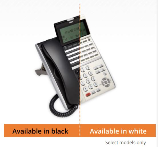 NEC DT430 DT830 White and Black handsets