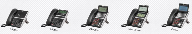 NEC SV9500 UK Support TDM and VoIP Desk Telephones